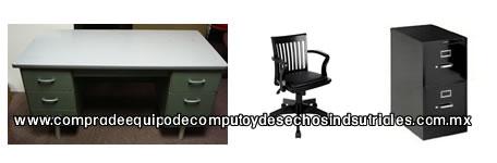 Compra de equipo de computo desechos electronicos for Compra de mobiliario de oficina